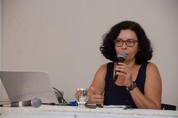 Professora Ana Inês de Souza/UFRJ (Foto Eduardo Mendonça)